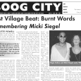 Issue 26, June 2005 Available featuring: East Village editor Paulette Powell on the life of her friend, the late poet and curator Micki Siegel, with a poem by Micki and […]