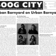 """Boog City 39, March 2007 Available Sunday P.M. featuring: ***Our Music section, edited by Jon Berger*** –""""When Phoebe Kreutz approached Luv-A-Lot Records' Dashan Coram with the idea for Urban Barnyard—the […]"""