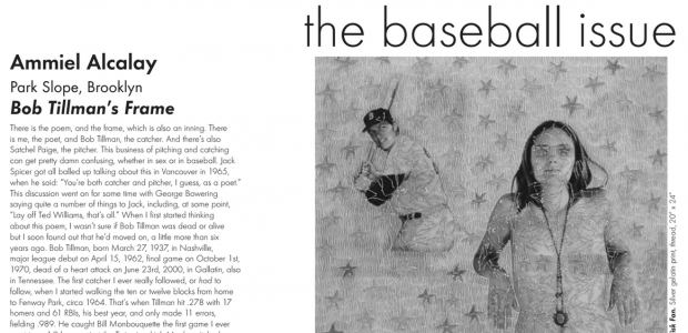 Boog City 37, Oct. 2006 Available Saturday **About this month's paper: Boog City 37 is the press's latest baseball issue. I assembled 25 poets, the number of people on a […]