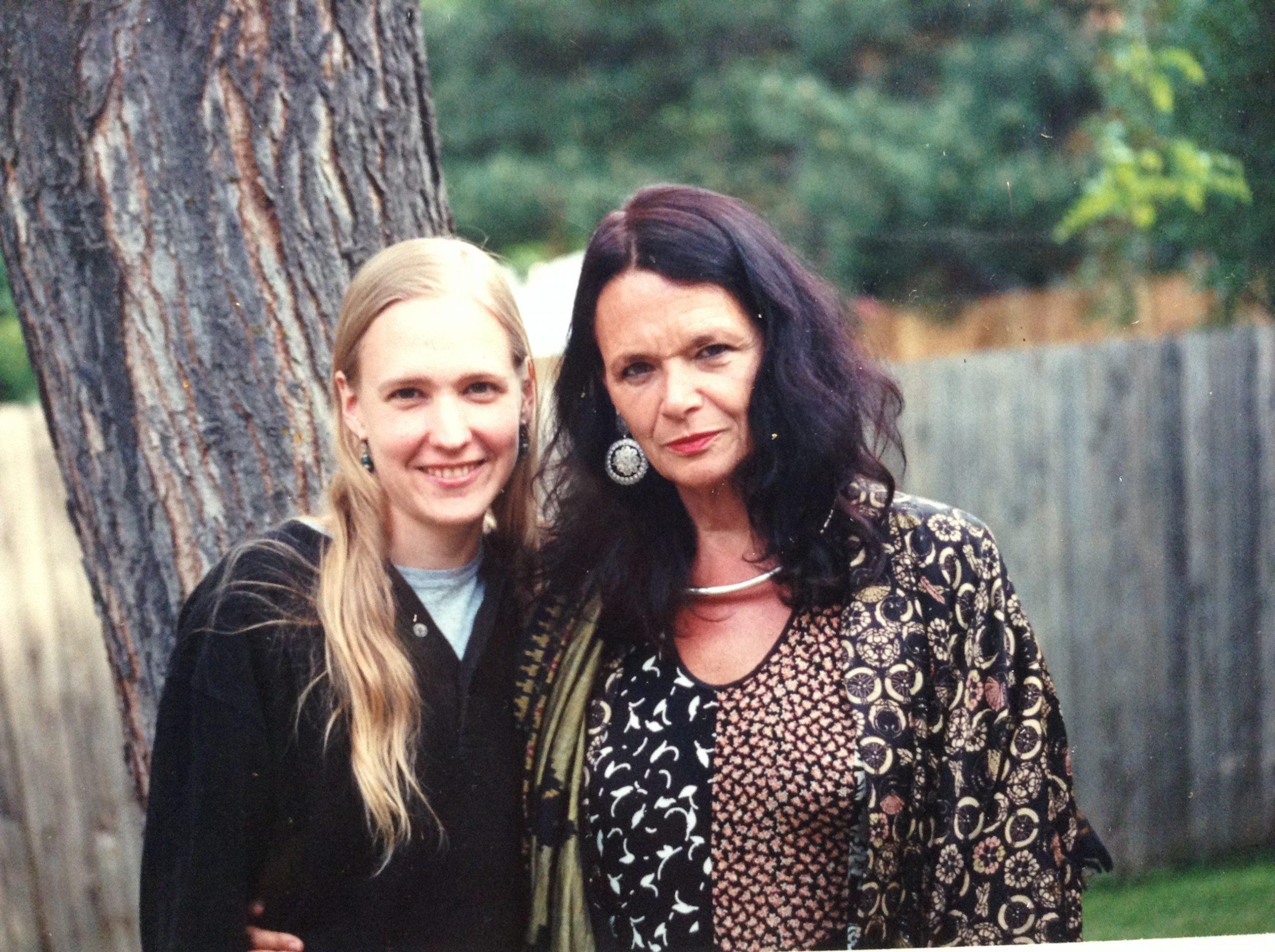 Lisa Jarnot and Anne Waldman